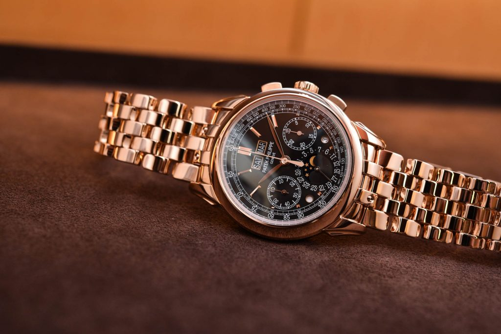 Kronograf Calender Patek Philippe Gold
